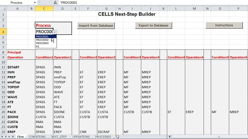cells mes product job tracking software