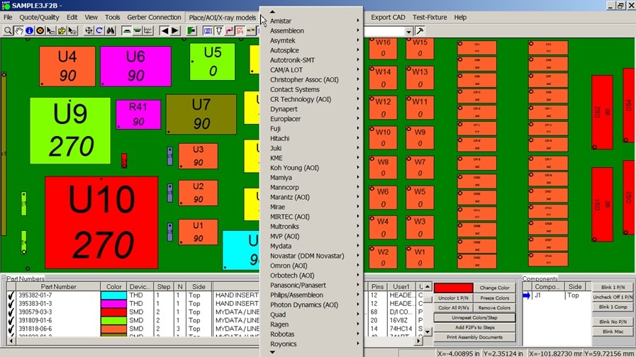 pcb gerber viewer cad viewer aoi software