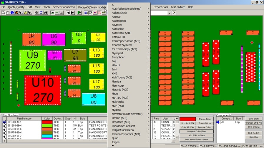 PCB Gerber Viewer CAD Viewer software