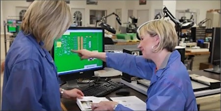 ladies pcb assembly documentation process sheet first 1st article inspection assembly aids