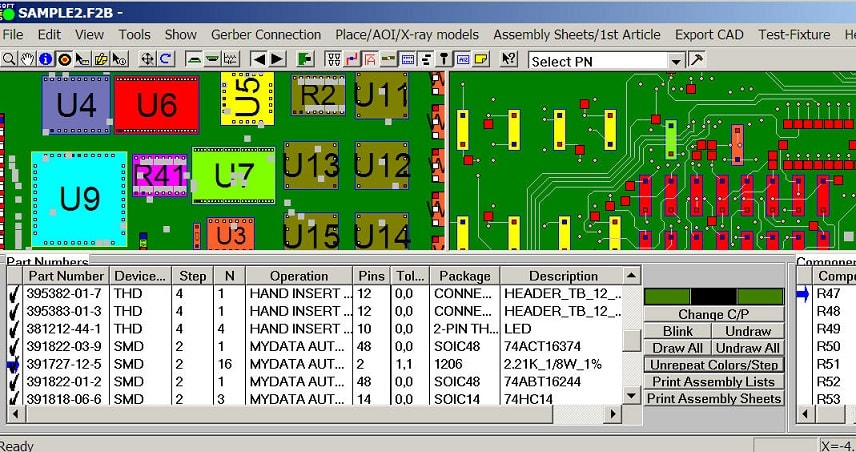 pcb method sheets assembly instructions process documents